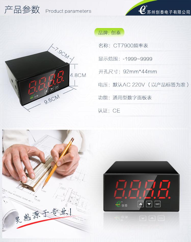 CT7900多功能面板表